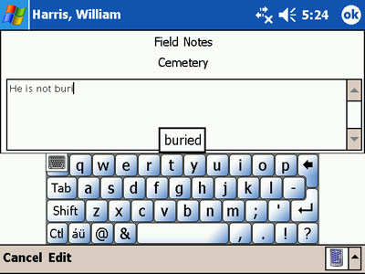 Built-In Soft Keyboard - Landscape